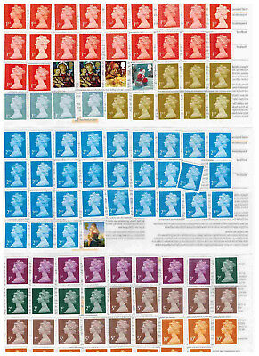 UK stamps good for postage (self-adhesive stamps) value GBP 245.40