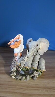 """Country Artists Elephant Tuskers Henry """"Catch of the Day!"""""""