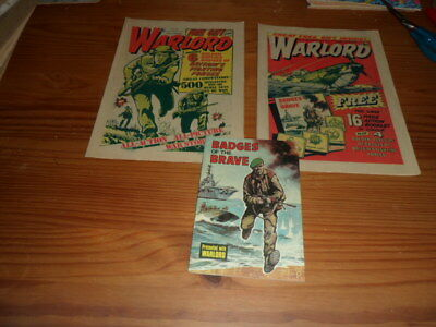 WARLORD COMIC #51 + 52 FREE GIFT issues,all complete,1975,D.C. THOMSON