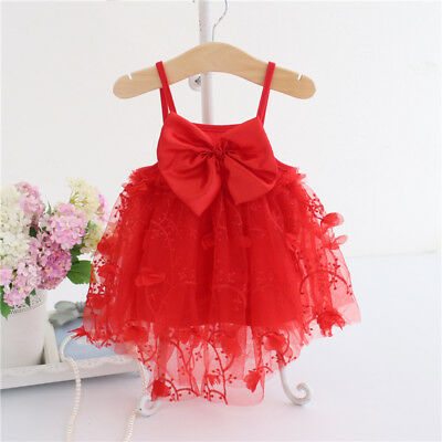 baby girls clothes Christening Party Birthday Pageant Princess Tutu 6-12 M