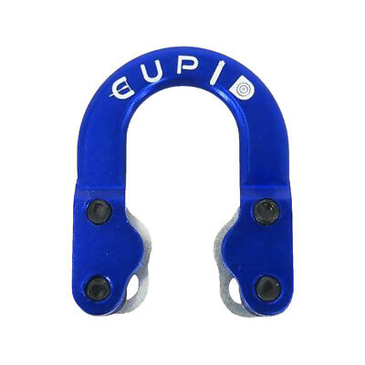 Archery Bowstring Release Metal D Loop for Compound Bow Hunting, Blue