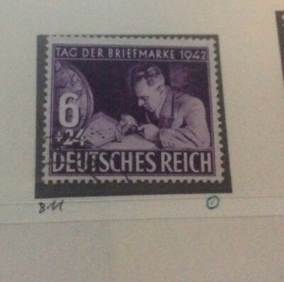 DR Germany 1942 Stamp Day Fine Used