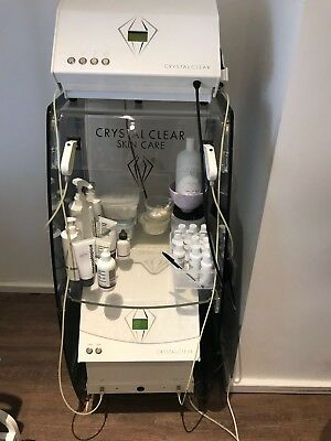 Crystal Clear Microdermabrasion Machine and Oxygen Machine with Trolley