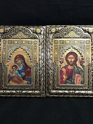 VINTAGE 18 & 24 ct gold ornamentation HANDMADE IN SPAIN, TRADICIONAL ICONS