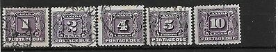 Canada 1930-2 Postage dues used