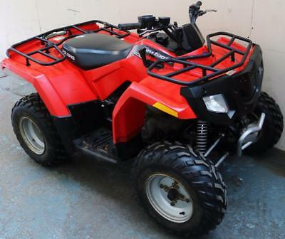 2012 Red Polaris Saw Tooth 200 Cc 2Wd 2X4 Automatic Offroad Working Quad Bike
