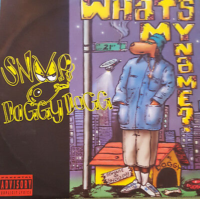 """Snoop Doggy Dogg – What's My Name? 12"""" Vinyl"""