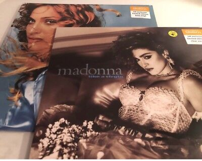 Madonna Limited Edition Ray Of Light And Like A Virgin Vinyls / Brand New Sealed