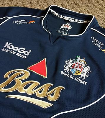 BRISTOL – Mens 2007/08 Rugby Shirt – Large