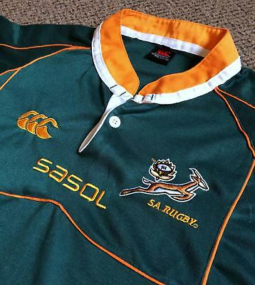 SOUTH AFRICA – Mens 2007/08 Home Rugby Shirt – XL