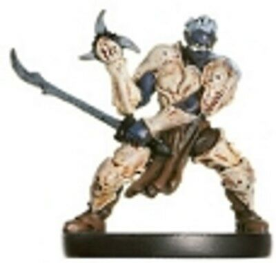 D&D Miniature Angelfire 34 Scorpion Clan Drow Fighter (UC) (MIB)