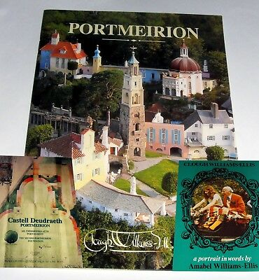 Portmeirion Prisoner Mcgoohan Interest - 3 Guides And Booklets