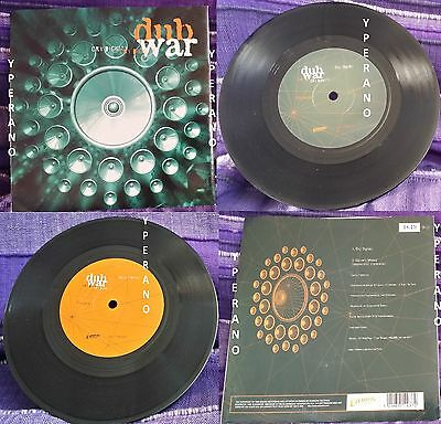 """DUB WAR: Cry dignity 7"""" Skindred singer! Check video. Numbered Limited edition"""