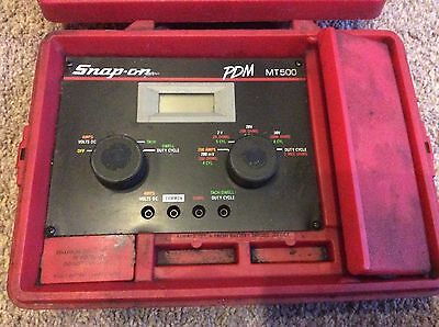 Snap-on Precision Diagnostic Meter PDM MT500 Engine Multimeter