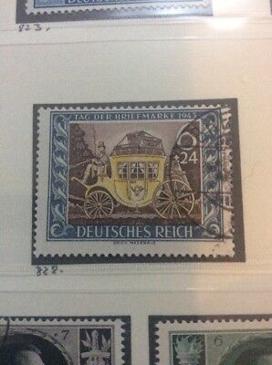 DR Germany 1943 Stamp Day Fine Used