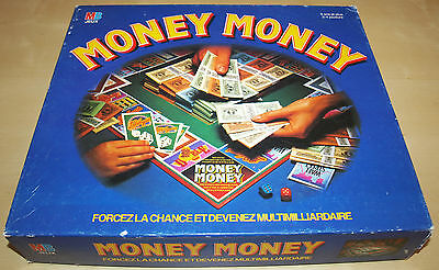 MONEY MONEY Jeu MB JEUX 1989 COMPLET / BE