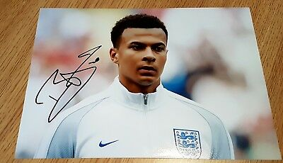 spurs signed dele alli  picture ..stunning item in england kit !!