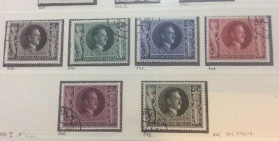 DR Germany 193 Hitlers 54th Birthday Fine Used