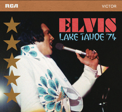 Elvis Collectors FTD - ELVIS - LAKE TAHOE 74 2 CD set