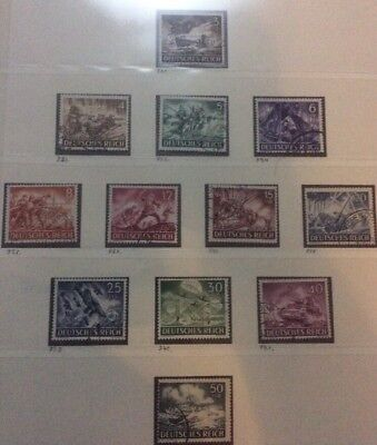DR Germany 1943 Armed Forces & Heroes Day Fine Used