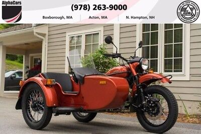 2017 Ural cT Terracotta  New 2017 Model Custom Color Brembo Brakes Financing & Trades