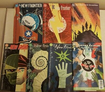 DC The New Frontier 1-6 & Justice League New Frontier 1  complete set