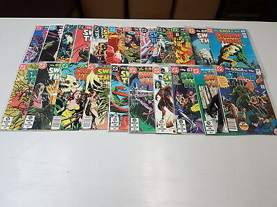 Swamp Thing #1 - 171, Complete Run, Set of 176, Alan Moore