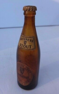 Miniature Guinness Bottle Commemorating Liverpool 750Th Anniversary In 1957