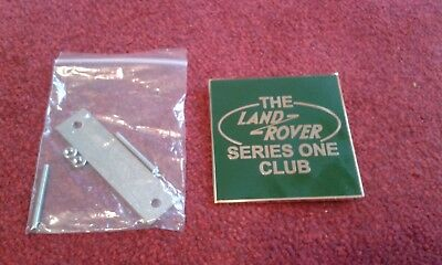 Land Rover Series 1 owners club badge
