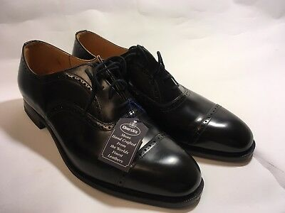 Church's Black Bookbinder Oxford Shoes 9G