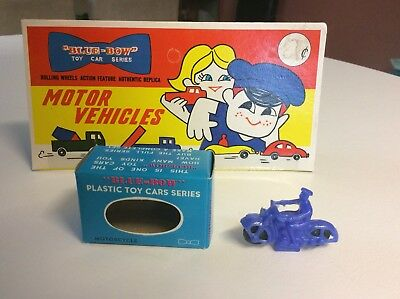 BLUE BOW (Blue Box) DINKY TOYS MOTORCYCLE Hong Kong Copies 1960's