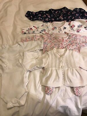 Bundle of Baby Girl clothes - size Tiny