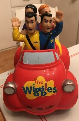 The Wiggles Big Red Car Musical Singing Toy
