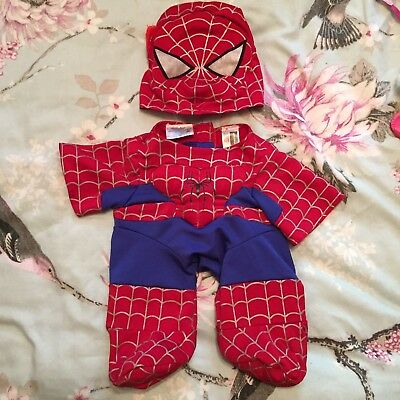 Build A Bear Spider-Man Outfit