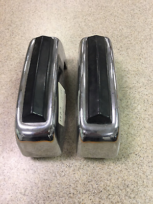 USED 1973 Ford Mustang  Bumper Guard  WHET Pads Pair