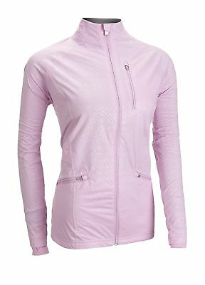 Adidas Ladies Climaproof Golf Rain Jacket Light Pink Medium