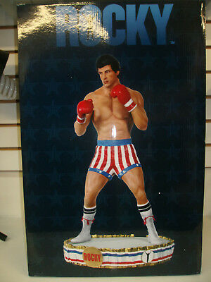 Rocky 1:4 Scale Premium Format Statue Hollywood Collectibles Boxing Sideshow