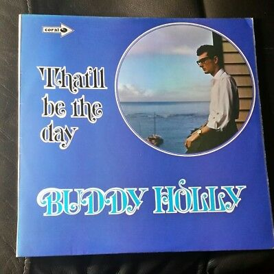 BUDDY HOLLY ‎– That'll Be The Day (CP 24) Vinyl LP Album; UK 1970 - VG+/VG+