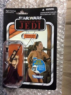 Star Wars Princess Leia Slave Outfit Revenge Of The Jedi VC64 Vintage Collection