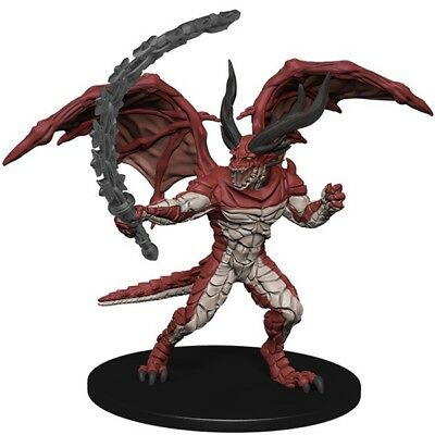 D&D Pathfinder Miniature Crown of Fangs 32 Horned Devil (UC) LARGE
