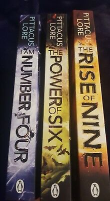 Pittacus Lore 3 Book Collection