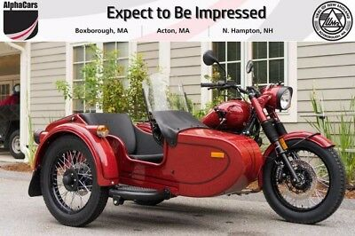 2017 Ural Retro Classic Maroon Custom  Updated 2017 Model Parking Brake Brembos Financing & Trades