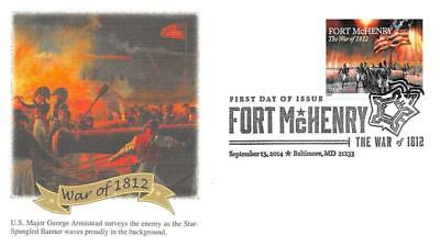 4921 (49c) War of 1812: Fort McHenry, First Day Cover Cachet [D280290]