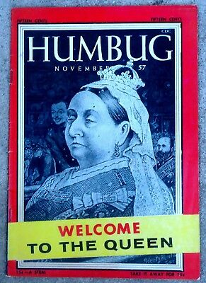Humbug #4 Nov 1957 VERY FINE+/NEAR MINT! 9.0! $0.99 Start! STUNNING Copy! WOW!