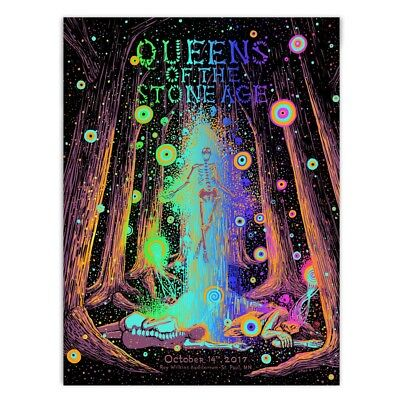 Queens of the Stone Age James R. Eads Concert Poster St Paul Foil AP X/30