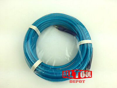 "50 FT 1/4"" NPT All Tool Depot Polyurethane AIR HOSE 300psi w/ Swivel Fitting"