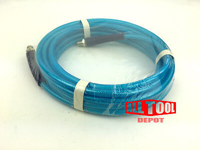 "25 FT All Tool Depot Polyurethane AIR HOSE 1/4""NPT 300psi w/ Swivel Fitting"