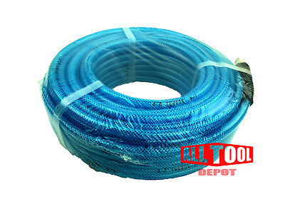 "50 FT All Tool Depot Polyurethane AIR HOSE 3/8""NPT 300psi w/ Swivel Fitting"