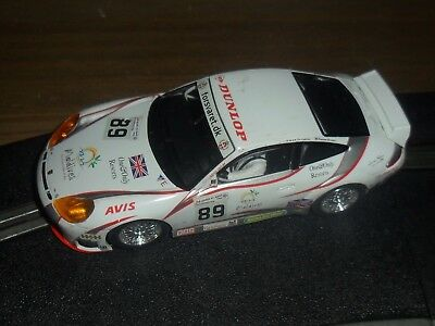 Scalextric Porsche 911 GT3R touring / super car # 89 Superb and fast with lights