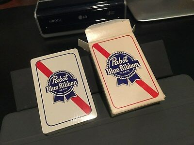 Deck of Pabst Blue Ribon Beer Playing Cards sealed